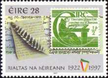 [The 75th Anniversary of the Republic of Ireland, type ABP]
