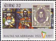 [The 75th Anniversary of the Republic of Ireland, type ABQ]