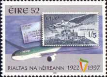 [The 75th Anniversary of the Republic of Ireland, type ABR]