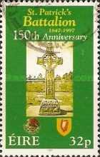 [The 150th Anniversary of the Founding of the St Patrick Battalion in Mexico, type ABS]