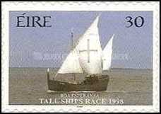 [Tall Ships Race - Dublin - Self-Adhesive Stamps, Typ AED]
