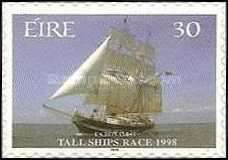 [Tall Ships Race - Dublin - Self-Adhesive Stamps, Typ AEG]
