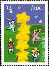 [EUROPA Stamps - Tower of 6 Stars, type AIY]