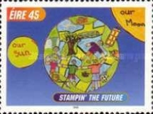 [International Children`s Paintings Competition - Stampin` the Future, type AJT]
