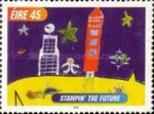 [International Children`s Paintings Competition - Stampin` the Future, type AJU]