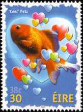 [Greeting Stamps - Cool Pets, type AMC]