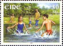[EUROPA Stamps - Water, Treasure of Nature, type ANJ]