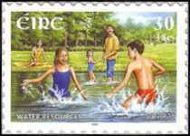 [EUROPA Stamps - Water, Treasure of Nature, type ANJ1]