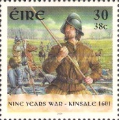 [The 400th Anniversary of the Battle of Kinsale 1601 - Nine Years War, type ANU]