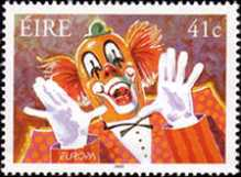 [EUROPA Stamps - The Circus, Typ ARB]