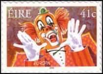 [EUROPA Stamps - The Circus - as Previous but Self-Adhesive Stamps, Typ ARD]