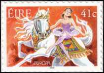 [EUROPA Stamps - The Circus - as Previous but Self-Adhesive Stamps, Typ ARE]