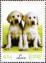[Greeting Stamps - Dogs - Chinese New Year - Year of the Goat, type ASX]