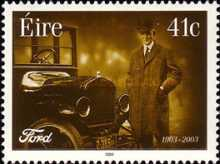 [The 100th Anniversary of Ford Automobiles, type AUG]