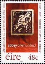 [The 100th Anniversary of the Abbey-Theatre Dublin, type AWH]