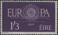 [EUROPA Stamps, Typ AX1]