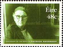 [The 100th Anniversary of the Birth of Patrick Kavanagh, 1904-1967, type AYC]