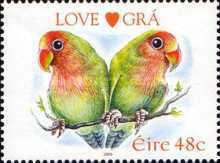 [Greeting Stamps -Birds - Chinese New Year - Year of the Rooster, type AYI]