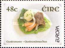 [EUROPA Stamps -  Gastronomy, type AZL]