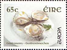 [EUROPA Stamps -  Gastronomy, type AZM]