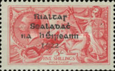[Great Britain Stamps Overprinted in Black by Dollar Printing House Ltd. - Long 9 in