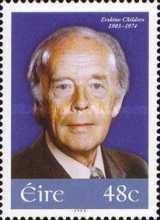 [The 100th Anniversary of the Birth of Erskine Childers, 1905-1974, type BAE]