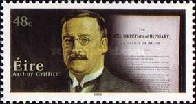[The 100th Anniversary of Arthur Griffith`s Guidelines for Independent Politics, type BAN]