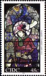 [The 75th Anniversary of the Death of Harry Clarke, type BBI]