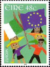 [EUROPA Stamps - Integration through the Eyes of Young People, type BBK]
