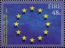 [The 20th Anniversary of the Flag of the European Union, type BBM]