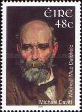 [The 100th Anniversary of the Death of Michael Davitt, type BCG]