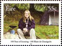 [EUROPA Stamps - The 100th Anniversary of Scouting, type BEA]