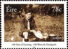 [EUROPA Stamps - The 100th Anniversary of Scouting, type BEB]