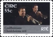 [Musicians of National Television and Radio - RTE - Self-Adhesive Stamps, type BEF1]