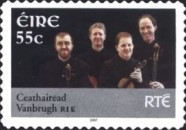 [Musicians of National Television and Radio - RTE - Self-Adhesive Stamps, type BEG1]
