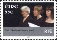 [Musicians of National Television and Radio - RTE - Self-Adhesive Stamps, type BEH1]