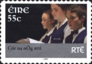 [Musicians of National Television and Radio - RTE - Self-Adhesive Stamps, type BEI1]