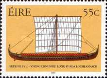 [Historical Heritage - Ending of the Reconstruction of a Wiking Ship, type BES]
