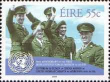 [The 50th Anniversary of the Duty of Irish Soldiers in the United Nations Troops, type BGJ]