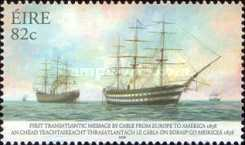 [The 150th Anniversary of the First Transatlantic Cable from Europe to America, type BGW]