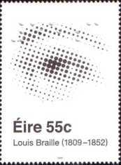 [The 100th Anniversary of the Birth of Louis Braille, type BHN]