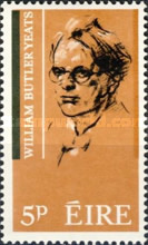 [The 100th Anniversary of the poet W.B.Yeats, type BJ]