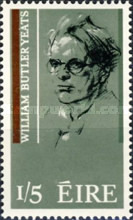 [The 100th Anniversary of the poet W.B.Yeats, type BJ1]