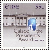 [The 25th Anniversary of Gaisce - The Presidents Award, type BJO]