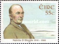 [The 100th Amnniversary of the Birth of Máirtín Ó Direáin, 1910-1988, type BJW]