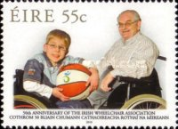 [The 50th Anniversary of the Irish Wheelchair Association, type BKM]