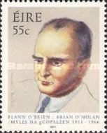 [The 100th Anniversary of the Birth of Brian O'Nolan, 1911-1966, type BMH]
