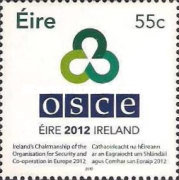 [Ireland's Chairmanship of the OSCE - Organisation for Security Co-operation in Europe, type BMP]