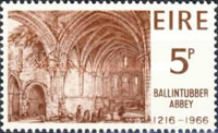 [The 750th Anniversary of the Ballintubber Monastery, type BW]