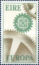 [EUROPA Stamps, Typ BX]